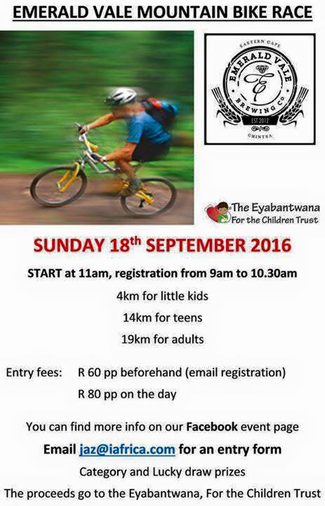 Eyabantwana, For the Children Trust – Mountain Bike Race