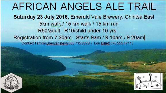 African Angels Ale Trail 2016 fundraiser