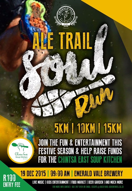 Chintsa East Soup Kitchen – Ale Trail Soul Run 2015