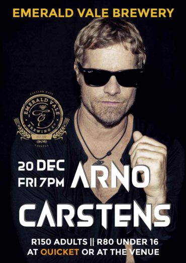Arno Carstens Full Band Live at Emerald Vale Brewery